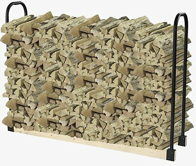 Pleasant Hearth - 32mm Heavy Duty Log Rack adjust to any length outdoor ~NEW~