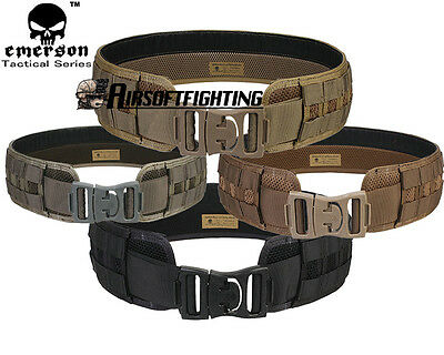 EMERSON MOLLE Tactical Load Bearing Utility Padded Belt Hunting Paintball