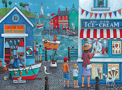 Clementoni Icecream on the Seaside 500pc Jigsaw Puzzle