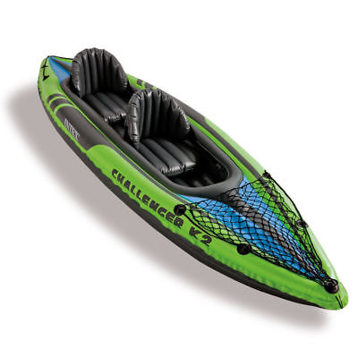 Intex Canoa kayak gonfiabile 2 posti Challenger K2 sport mare lago fiume 68306NP