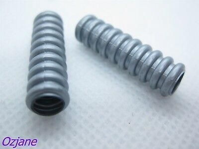 LEGO PART 32580 FLAT SILVER HOSE SOFT AXLE 7 FOR 2 PCS