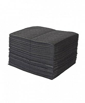200 x Superb Universal Spill Absorbent Pads,Oil, Fuel, Water, Spill Pads SM20