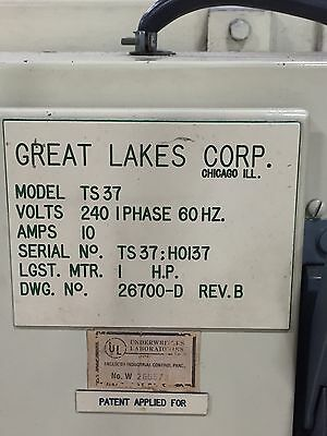 Great Lakes Model #TS37 Shrink Wrapper with a ST1250 Streamfeeder... great DEAL!