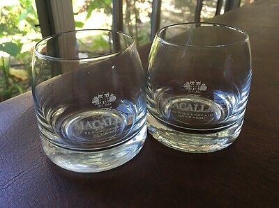 2 The Macallan Highland Scotch Whiskey  8 oz Glasses