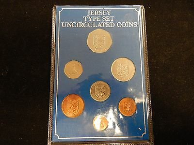 Jersey Uncirculated 7 Coin Type Set