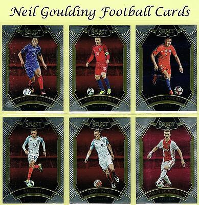 Panini SELECT SOCCER 2016-2017 'FIELD LEVEL' Football Cards #201 to #300