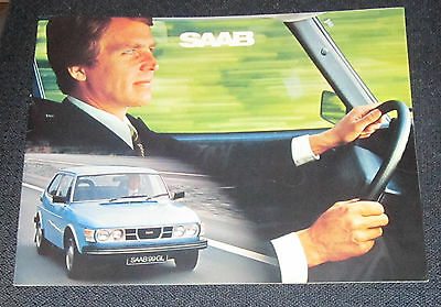 1978 Saab,Sweden, Original sales brochures, English 28 pages, 11 inx by 8 ins