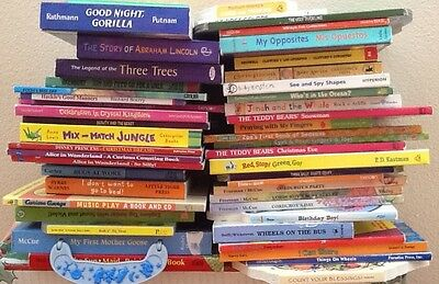 Childrens Baby Toddler HC Board Books Lot of 10 ~  Kids Daycare MIXED UNSORTED