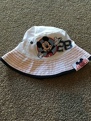 Disney Mickey Mouse Sunhat size 0-3 Months