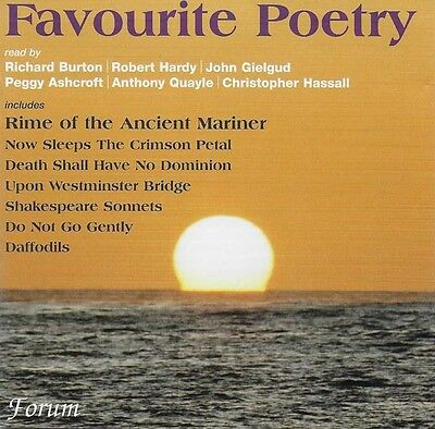 Favourite Poetry - CD Audio Book Great Voices Read