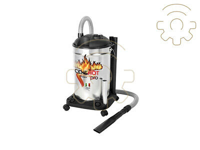 Cenepro barrel ash cleaner from 30 lt 1200W ash stove fireplace barbecue