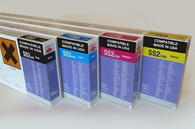 Mimaki SS2 Compatible 440ml Solvent Ink Cartridge for JV3 Series Printers