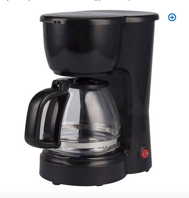 Mainstays 5-Cup Automatic Coffee Maker ~ Easy and Compact Black  p12