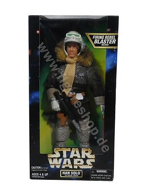 "Star Wars Power Of The Force 2 / Han Solo (Hoth Gear) 12"" / 1997"