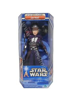 """Star Wars Attack Of The Clones / Zam Wesell 12"""" / 2002"""