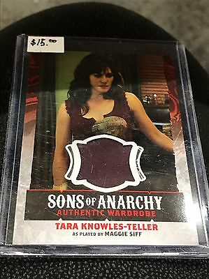 Sons Of Anarchy -Tara Knowles-Teller Authentic Wardrobe Card