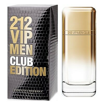 Carolina Herrera '212 VIP Men Club Edition' Eau De Parfum 3.4oz/100ml New In Box