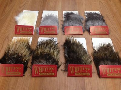 Whiting Farms Coq de Leon Tailing Packs Fly Tying Feathers