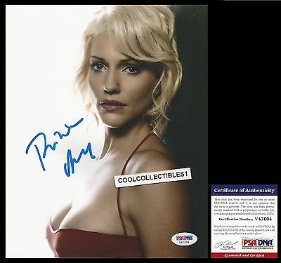 "Tricia Helfer ""killer Women"" Hand Signed 8X10 Color Photo Psa/dna Coa"