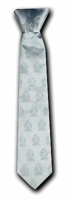 First Communion White Clip-On Boy's Tie NEW!