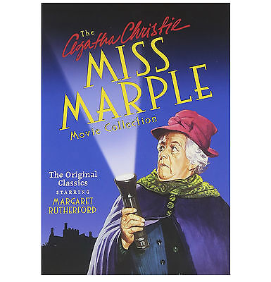 Agatha Christies Miss Marple Movie Collection DVD 4-Disc Box Gift Set   NEW