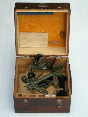 Marine Ships Russian Cho-M Nautical Sno M Sextant With Accessories