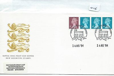 wbc. -  GB - FIRST DAY COVER - FDC - 015 - SPECIALS - 1984 - COIL STRIP