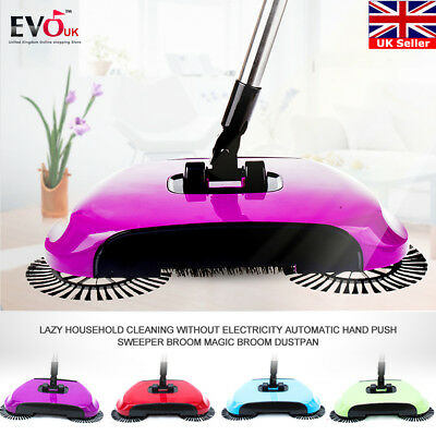 New automatic hand push sweeper broom household cleaning without electricity