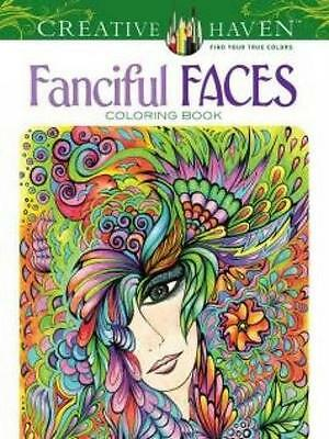 Creative Haven Fanciful Faces Coloring Book (Creative Haven Coloring Books), Ada