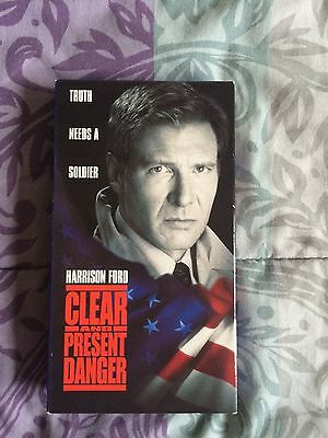 Clear And Present Danger Vhs