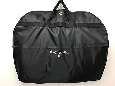 Paul Smith Suit Carrier BLACK with white PS & Paul Smith Signature