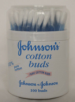 Johnson and Johnson Baby Pure Cotton Buds -  100 Buds