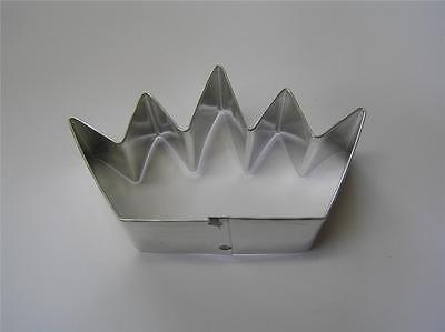 crown cookie cutter  FREESHIP princess royalty queen prince king