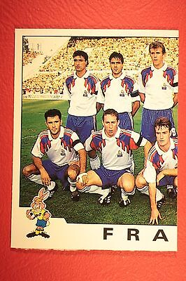 44 FRANCE MARTINI NEW WITH BLACK BACK TOP MINT!! Panini EURO 92 N