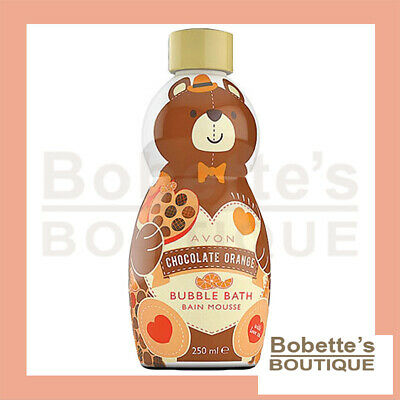 BAIN MOUSSANT AVON TEDDY pour Enfants Parfum CHOCOLAT ORANGE