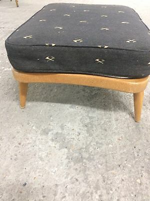 ercol footstool - New cushion & cover - Collection SE173ES (free) or UK delivery