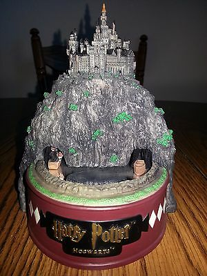 Harry Potter Hogwarts Musical Statue by Enesco Rare, Used