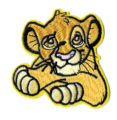 Simba - The Lion King - Movie - Embroidered Iron On Applique Patch
