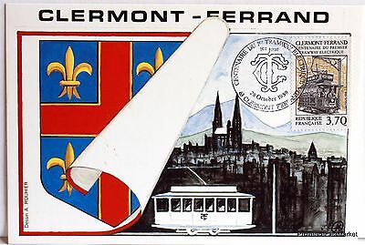 Yt 2608 CLERMONT FERRAND  FRANCE CARTE MAXIMUM 1° JOUR FCP