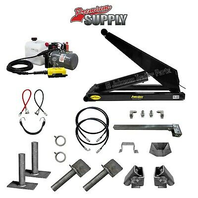 10 Ton (20,000 lb) Dump Trailer Hydraulic Scissor Hoist Kit - PH520  Power Hoist