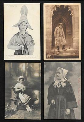 """15 Cartes """" Moeurs-Coutumes-Costumes"""" Lot 15"""
