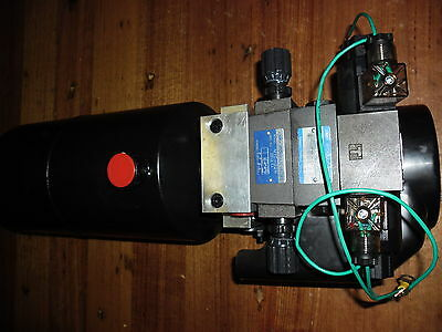 Hydraulic Power Pack  Double Action 12 Volt