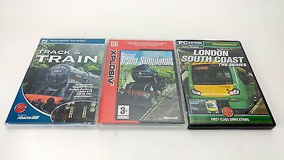 Train Simulator PC Game BUNDLE - Game + 2 Expansions - Joblot