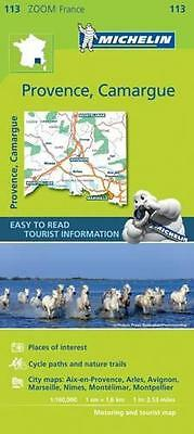 Provence, Camargue (Michelin Zoom Maps), Michelin | Map Book | 9782067217768 | N