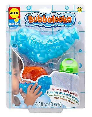 Alex Toys BUBBALOOKA Kids/Child Bath Bubble Toy Machine BN