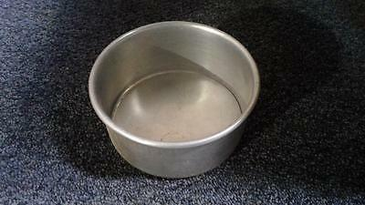 """Industrial/Commercial Round Aluminum Cake Pan. 6"""" x 3"""""""