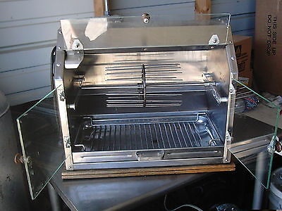 Town & Country Barbeque Rotisserie Hot Dog Broiler, Spike Rotisserie, 36 Dogs