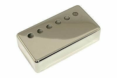 Humbucker Pickup cover Nickel plated nickel silver 48mm pole spacing
