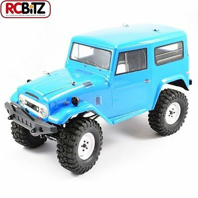 FTX Outback 4x4 Trail RTR Tundra BLUE Toyota FJ40 style Scaler Crawler FTX5565