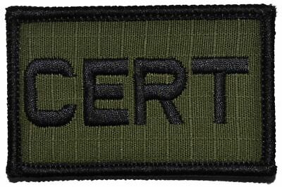 Community Emergency Response Team CERT - 2x3 Military/Morale Patch Hook Backing